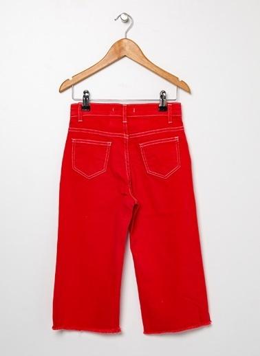 Limon Company Limon Kırmızı Kız Çocuk Pantolon Kırmızı